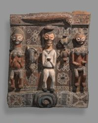 Wall Panel from Boys' Initiation House