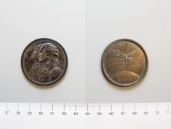 Medal celebrating Washington and Franklin on the occasion of the Peace of 1783
