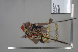 Shadow Puppet (Wayang Kulit) of Cingkarabala, from the set Kyai Drajat