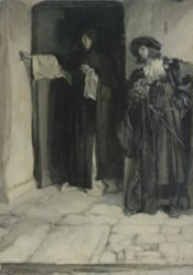 The Duke and Friar Thomas, from Measure for Measure, Act I, Scene iii