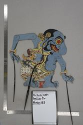 Shadow Puppet (Wayang Kulit) of Buta Terong, from the set Kyai Drajat