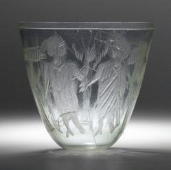 Cup with the Raising of Lazarus