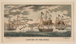 Capture of the Essex, one in a series of eight