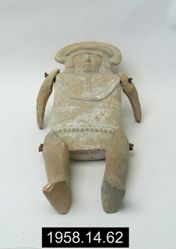 Female Figure with Moveable Limbs