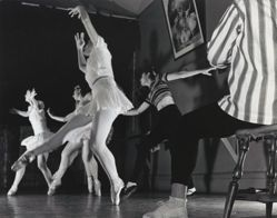 At Ballanchine's School at Carnegie Hall, Ballet Studio
