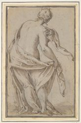 Standing Woman Seen from the Back