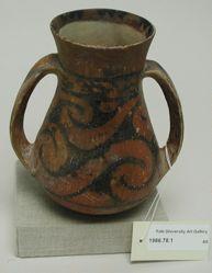 Two-handled Jar pear shaped