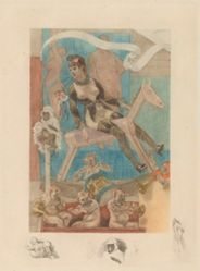 Woman on a Rocking Horse, from Cabotinages de femmes, or Les cabotinages de l'amour
