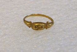 Incised Hoop Ring
