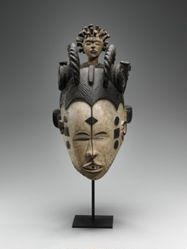 """Queen of women"" Mask (Eze Nwanyi)"