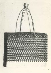 Bag of Embroidered cotton