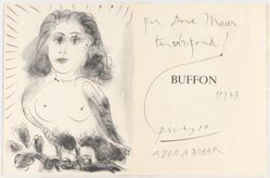 40 Dessins de Picasso en Marge du Buffon (40 Drawings by Picasso in the Margins of Buffon)