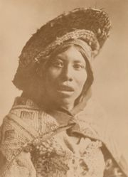 Wife of Miguel Juispe, Inca Chief, Cusco