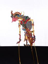 """Shadow Puppet (Wayang Kulit) of Sembadra or Sumbadra from Wayang Kulit """"Planet"""""""