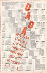 International DADA Exhibition, 1916-1923