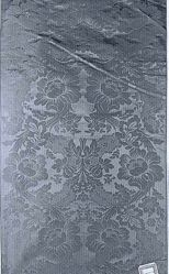 Reproduction of damask (fancy twill) of Louis XV period