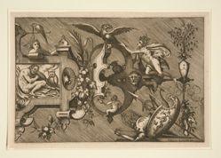 De Nacht (Night), from the suite Compertimenta Pictoriis Flosculis Manubiisque . . .