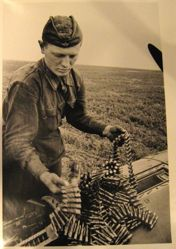 Gunner Loading Ammunition, from The Great Patriotic War, Vol. I