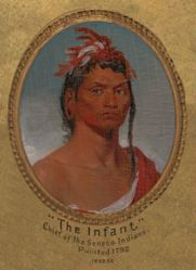The Infant—Chief of the Seneca Indians