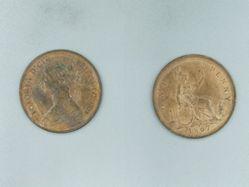 1 Penny of Victoria, Queen of Great Britain from Birmingham