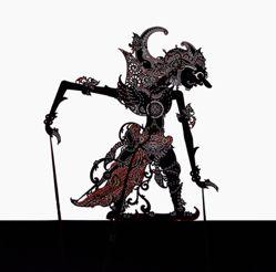 Shadow Puppet (Wayang Kulit) of Gatotkaca