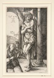 The Man of Sorrows Standing by the Column, title page from The Engraved Passion