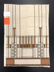 Length of Fabric, Taliesin Line, Design 107