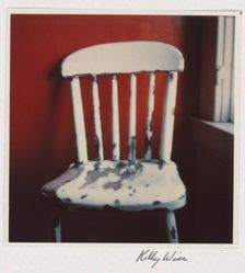 Untitled (chair with red wall)