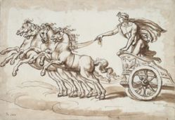 Apollo in a Chariot Drawn by Four Horses