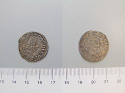 Silver Groat of Charles I from Aberystwyth