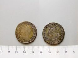 1/2 Lire of Joseph II, Holy Roman Emperor, King of Germany from Mariana Habsburg of Austria; Milan