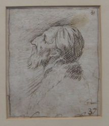 Head of an Old Man (formerly Portraits of men)
