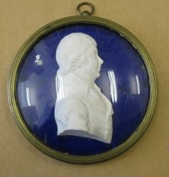Portrait Medallion: Lord Mansfield