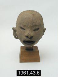 Head representing Xipe Totec
