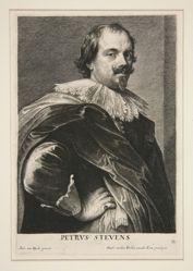 Portrait of Pieter Stevens (1593-1658)