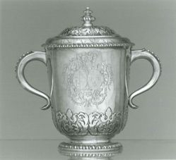 Two-handled Covered Cup