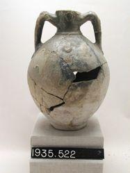 Large two-handled narrow-necked vase