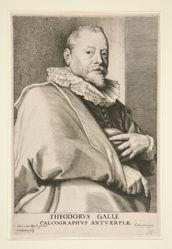 Portrait of Theodor Galle