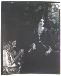 Portrait of Woman and her Daughter