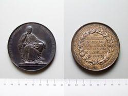 Medal of Jean Jacques Rousseau Geneva Monument
