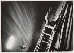 On a Ladder, from the series Metropolitan Opera