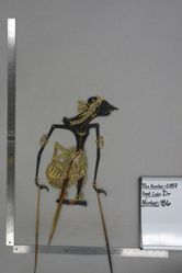Shadow Puppet (Wayang Kulit) of Narayana, from the set Kyai Drajat