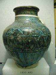 Jar with Vegetal Motifs