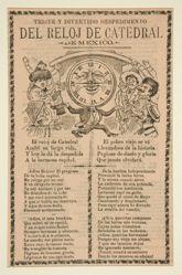 Triste y Divertido Despedimento del Reloj de Catedral de Mexico (Sad and amusing dismissal of the clock of the Cathedral of Mexico)
