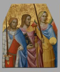 Saints Julian, James, and Michael
