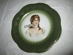 Scalloped-Edged Portrait Plate of Louise of Prussia