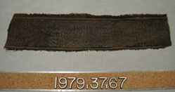 Band of textile fragment