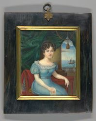 Young Lady Seated in a Chair