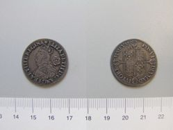 Sixpence of Elizabeth I, Queen of England from London