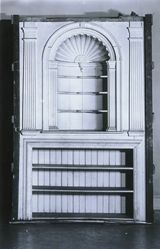 Wall Cupboard and Fireplace